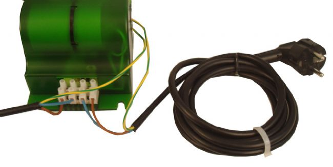 4. Wiring the cable of the ballast