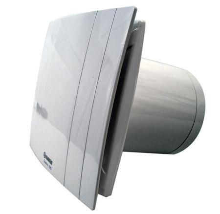 Silent extractor fan blauberg quatro 100 88 m3 h - Aspiratori per bagno cieco ...