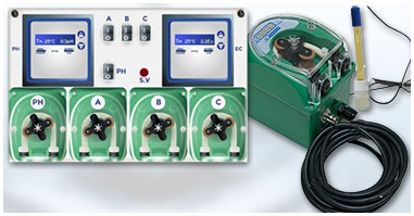 Automatic Ph and EC Controllers