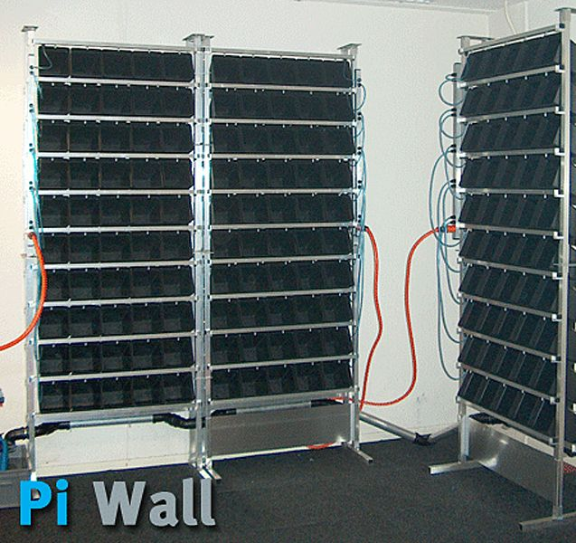Hydroponic Vertical System Pi Wall
