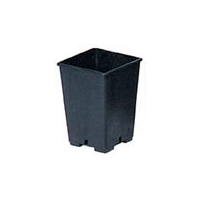 Square Pot 0,4L - 7x7x8cm (propagation)