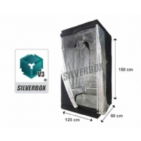 SilverBox V3 - 0,7 Mq Grow Tent - 120x60x150cm