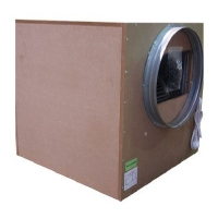 Covered Aspirator SonoBox Bois 65x65cm 2-entries-250/315cm - 4250 M3/H