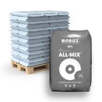 Pallet Biobizz All-Mix 50L Soil (65 Pcs)