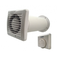 Extractor Fan Kit - Blauberg Aero Still 100 84m3/h - With Thermostat