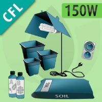 Indoor Grow Kit Soil 150w - CFL