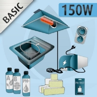 Hydroponic Indoor Kit 150W - Basic