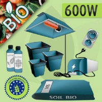 600W Indoor Growing Soil Kit - ORGANIC
