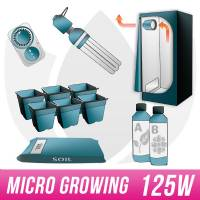 Micro Kit Soil 125W CFL + Grow Box