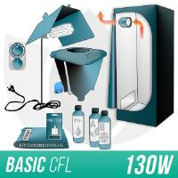 Indoor Hydroponic Kit 150w + Grow Box - CFL
