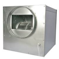 AirFan ISO-Box STEEL - 45x45cm 250mm - 1500 M3/H