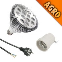 SONLIGHT PAR38 AGRO + E27 + 2MT CABLE