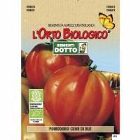 TOMATO BULL HEART 0,8gr - Bio Garden Seeds by Sementi Dotto