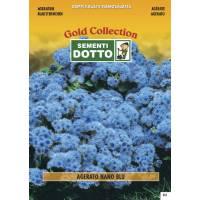 Ageratum Dwarf Blue (Ageratum houstonianum)  - Gold Seeds by Sementi Dotto 0.6gr