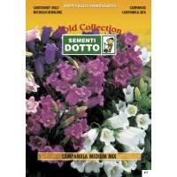 Bellflower Campanula Medium- Gold Seeds by Sementi Dotto