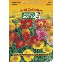 Californian Poppy (Eschscholtzia californica) - Gold Seeds by Sementi Dotto 1.6gr