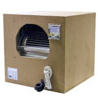 ISOBOX Insulated Extractor - Out 315mm - In 2x250mm - 55x55cm - 2000 m3/h