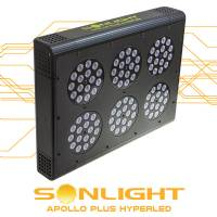 Led Apollo PLUS Hyperled Sonlight 6 (96x3w) 288W - Agro
