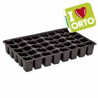 Plastic seedbed by Verdemax - I LOVE ORTO - 40 reusable cells