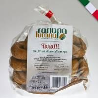Italian Hemp Tarallini 250gr