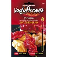 VogliaPiccante Pepper Seeds - Jays Scorpion s Mix