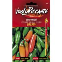 VogliaPiccante Pepper Seeds - Serrano