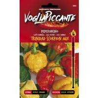 VogliaPiccante Pepper Seeds - Thrinidad Scorpion Mix