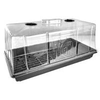 Ventilated Mini Greenhouse - Germinator - 54x28x25cm