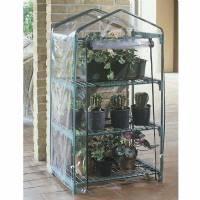 Verdemax - Azalea 3 Shelves Greenhouse 70X50X125 cm