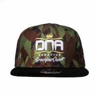 Dna - Flat Bill Baseball Cap Ganja - Green - Medium