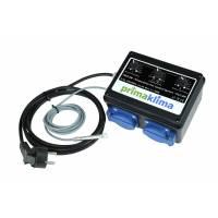 Temperature Controller Box - 2 x300W - Prima Klima