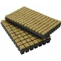 Rockwool Cube 2,5 x 2,5cm - Tray 150pcs