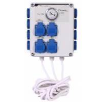 Control Unit with Grasslin Timer 12x600W