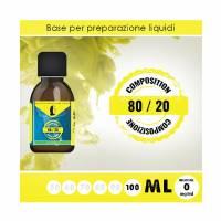 LOP - Base 80/20 100ml - Nicotine 0mg