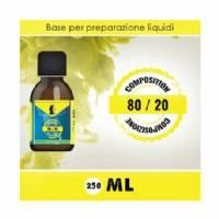 LOP - Base 80/20 250ml - Nicotine 0mg