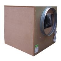 Covered Aspirator SonoBox Bois 75x75cm 2-entries-250/450cm - 6000 M3/H