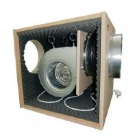 SOFTBOX 65X65X75CM - 6000m3/h - Silent Extractor Fan