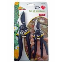 Pruning Shears  - 2 pairs Set