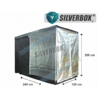 SilverBox V3 - 2,9 Mq Grow Tent - 240x120x200cm