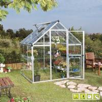 Verdemax - Doritis Medium Greenhouse 185x184xh209 cm