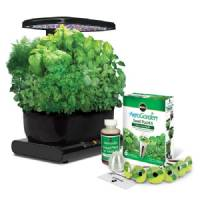 Miracle-Gro AeroGarden Sprout Plus LED with Gourmet Herb Seed Pod Kit, Black