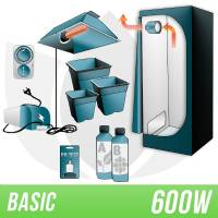 Indoor Soil Kit 600w + Grow Box - BASIC