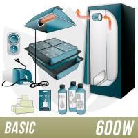 600W Aeroponic Kit + Grow Box - BASIC