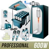 600W Aeroponic Kit + Grow Box - PRO