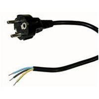 Schuko Plug + 0,8 Meters Cable