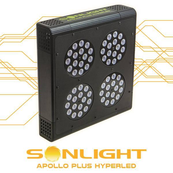 Led Apollo PLUS Hyperled Sonlight 4 (64x3w) 192W - Agro