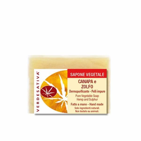 Verdesativa - Hemp and Sulfur Soap