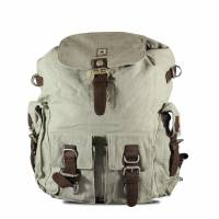 Pure - HF 4 Front-pockets Backpack - Grey