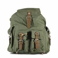 Pure - HF 4 Front-pockets Backpack - Kaki