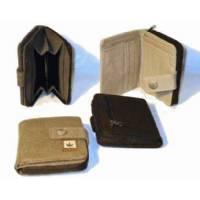 Pure - HF Zipped Wallet - Green